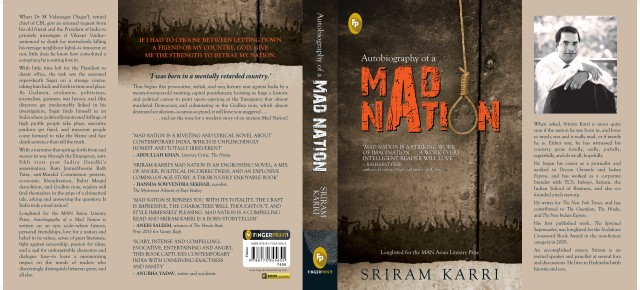 Book News: A modern story of an ancient Mad Nation - 'Autobiograhy of a Mad Nation' by Sriram Karri