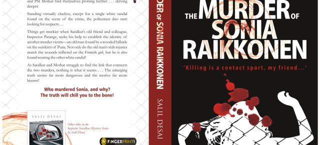Book News: 'Murder of Sonia Raikkonen' by Salil Desai will chill you to the bone!